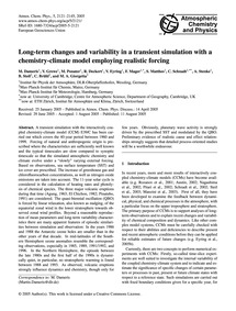 Long-term Changes and Variability in a T... by Dameris, M.