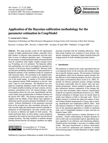 Application of the Bayesian Calibration ... by Conrad, Y.
