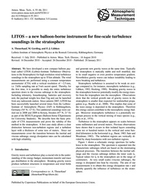 Litos – a New Balloon-borne Instrument f... by Theuerkauf, A.