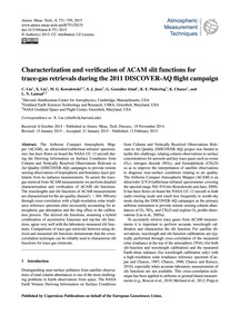 Characterization and Verification of Aca... by Liu, C.