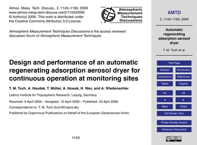 Design and Performance of an Automatic R... by Tuch, T. M.
