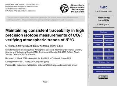 Maintaining Consistent Traceability in H... by Huang, L.