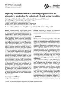 Lightning-driven Inner Radiation Belt En... by Rodger, C. J.