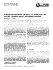 Testing Different Decoupling Coefficient... by Goldberg, V.