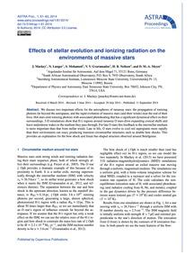 Effects of Stellar Evolution and Ionizin... by MacKey, J.