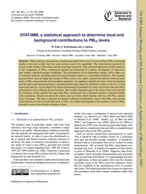 Stat-imm, a Statistical Approach to Dete... by Enke, W.