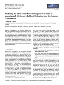Predicting the Future from Observable Se... by Röken, C.