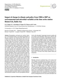 Impact of Change in Climate and Policy f... by Hoppe, H.-g.