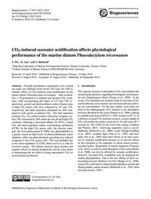 Co2-induced Seawater Acidification Affec... by Wu, Y.