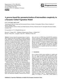 A Process-based Fire Parameterization of... by Li, F.