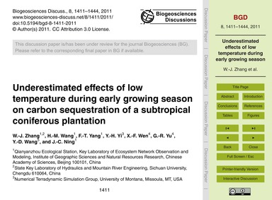 Underestimated Effects of Low Temperatur... by Zhang, W.-j.