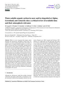 Water-soluble Organic Carbon in Snow and... by Legrand, M.