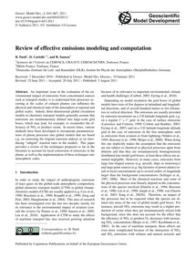 Review of Effective Emissions Modeling a... by Paoli, R.