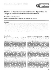 The Use of Neural Networks and Genetic A... by Rao, Z.