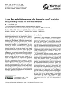 A New Data Assimilation Approach for Imp... by Crow, W. T.