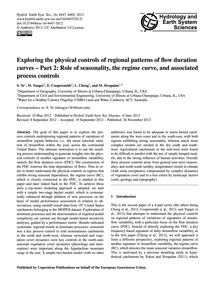 Exploring the Physical Controls of Regio... by Ye, S.