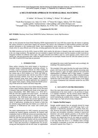 A Multi-sensor Approach to Semi-global M... by Gehrke, S.