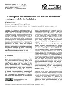 The Development and Implementation of a ... by Šepić, J.