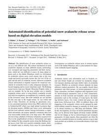 Automated Identification of Potential Sn... by Bühler, Y.