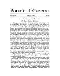 Botanical Gazette : 1883 ; Apr. No. 4 Vo... Volume Vol. 8 by Ruddat, M.