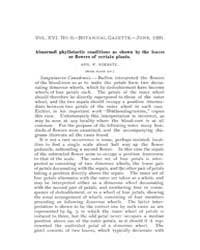 Botanical Gazette : 1891 ; Jun. No. 6 Vo... Volume Vol. 16 by Ruddat, M.