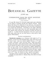 Botanical Gazette : 1909 ; Jun. No. 6 Vo... Volume Vol. 47 by Ruddat, M.