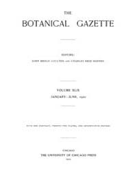 Botanical Gazette : 1910 ; Jan. No. 1 Vo... Volume Vol. 49 by Ruddat, M.