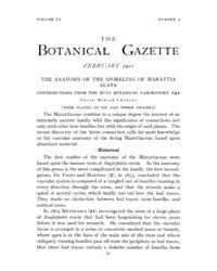 Botanical Gazette : 1911 ; Feb. No. 2 Vo... Volume Vol. 51 by Ruddat, M.