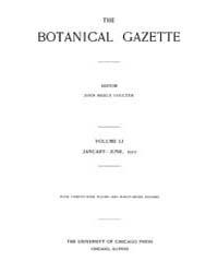 Botanical Gazette : 1911 ; Jan. No. 1 Vo... Volume Vol. 51 by Ruddat, M.