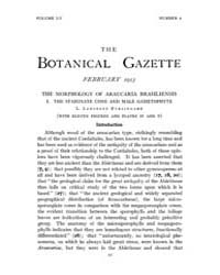 Botanical Gazette : 1913 ; Feb. No. 2 Vo... Volume Vol. 55 by Ruddat, M.