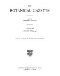Botanical Gazette : 1913 ; Jan. No. 1 Vo... Volume Vol. 55 by Ruddat, M.
