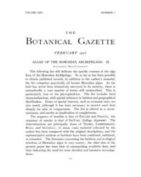 Botanical Gazette : 1918 ; Feb. No. 2 Vo... Volume Vol. 65 by Ruddat, M.