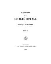 Bulletin De La Société Royale De Botaniq... by