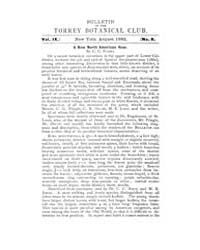 Bulletin of the Torrey Botanical Club : ... Volume Vol. 9 by