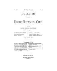 Bulletin of the Torrey Botanical Club : ... Volume Vol. 27 by