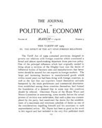 Journal of Political Economy : 1910 Mar.... Volume Vol.9 by Reny,philip