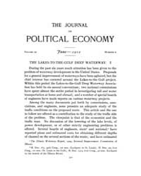 Journal of Political Economy : 1912 Jun.... Volume Vol.14 by Reny,philip