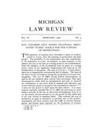 Michigan Law Review : 1908 Feb. No. 4, V... Volume Vol._6 by