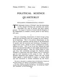 Political Science Quarterly ; Volume 34 ... by