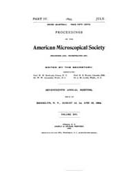 Proceedings of the American Microscopica... by