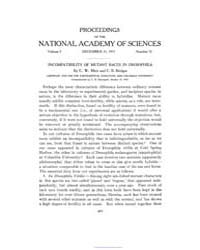 Proceedings of the National Academy of S... by