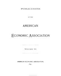 Publications of the American Economic As... by