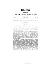 Rhodora ; Volume 18 : No 209 : May : 191... by