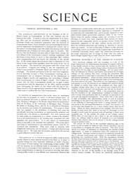 Science ; Volume 10 : No 239 : Sep 2 : 1... by