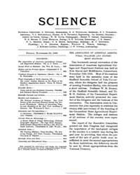 Science ; Volume 12 : No 309 : Nov 30 : ... by