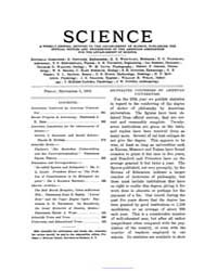 Science ; Volume 16 : No 401 : Sep 5 : 1... by