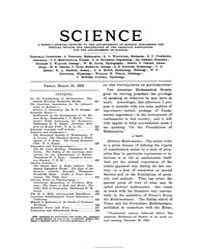 Science ; Volume 17 : No 428 : Mar 13 : ... by