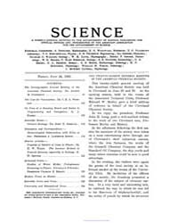 Science ; Volume 18 : No 447 : Jul 24 : ... by