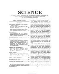Science ; Volume 19 : No 473 : Jan 22 : ... by