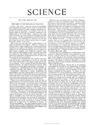 Science ; Volume 19 : No 474 Mar 1892 by